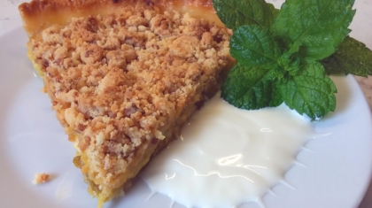Crumble de Pruna