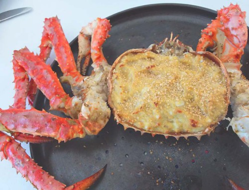 Crab (Centollo) stuffed